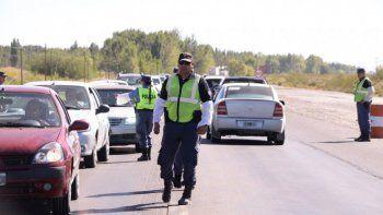 Personal de Tránsito detuvo al conductor que venía a Cipolletti.