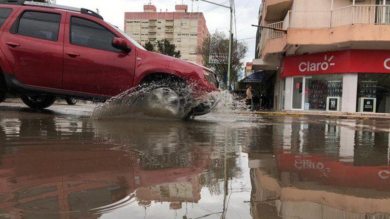 La lluvia en la ciudad ya superó la media mensual para el mes de octubre