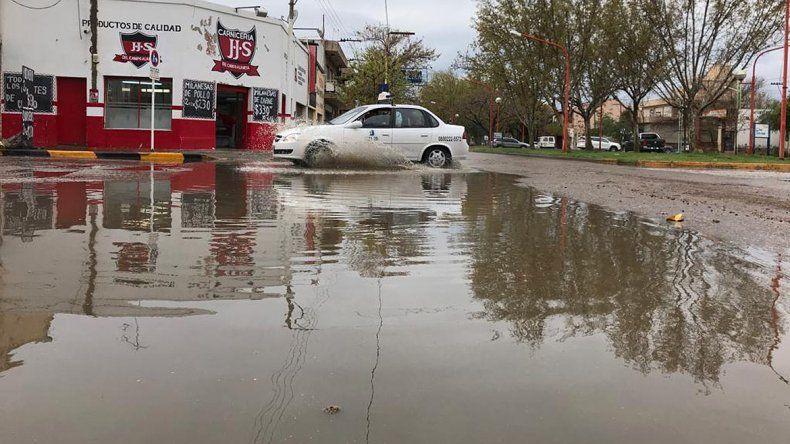 Lluvias intensas en el Alto Valle pero  el finde mejorará