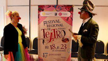 arranco el festival de teatro con obras para todos los gustos