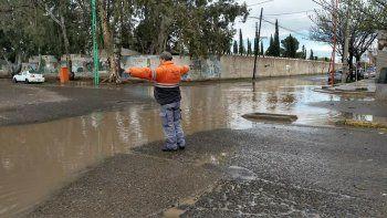 no hubo que asistir a familias cipolenas por la fuerte lluvia