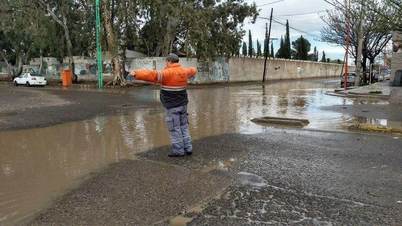 No hubo que asistir a familias cipoleñas por la fuerte lluvia