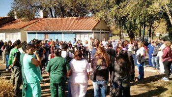 Los estatales realizarán protestas en todos los hospitales rionegrinos.