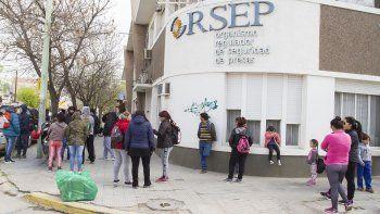 organizaciones se movilizaron al epre por los subsidios populares