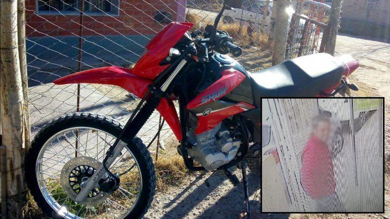 Falso cliente salió a probar una moto pero nunca regresó