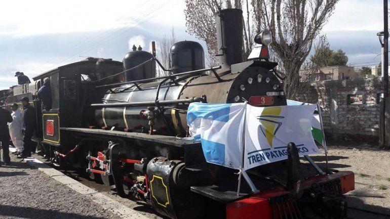 La Trochita, una joya histórica que vuelve a rodar por Río Negro