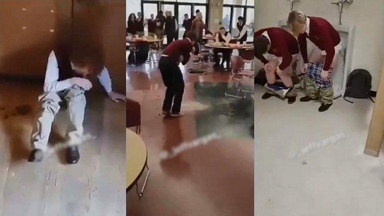 Le dio laxante a sus compañeros y causó una diarrea masiva en la escuela
