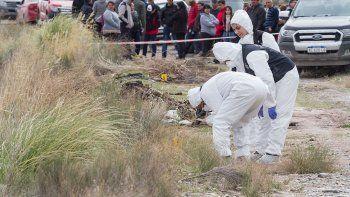 María Sofía Domínguez fue encontrada el viernes en el canal principal de riego, en la zona de El 30.