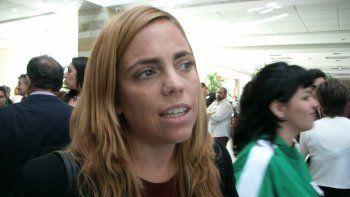 La diputada María Emilia Soria rechazó el Presupuesto 2019.