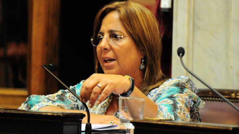 La ex senadora Bongiorno criticó los ajustes de pensiones en el sector.