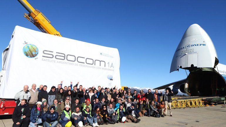 Esta semana se lanzará el segundo satélite construido en Río Negro.