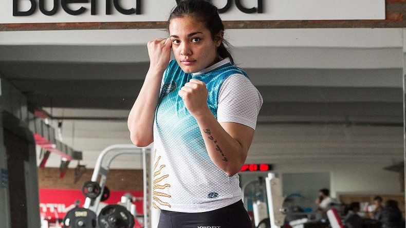 Tina Vidal, la boxeadora cipoleña del momento