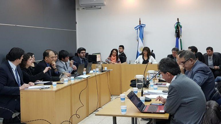 El juicio contra la megabanda se desarrolla en Cipolletti.