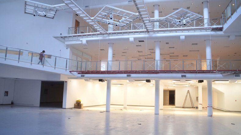 El Complejo Cultural es una magna obra arquitectónica que potenciará a Cipolletti en la región. Su nombre definitivo todavía es motivo de controversias.