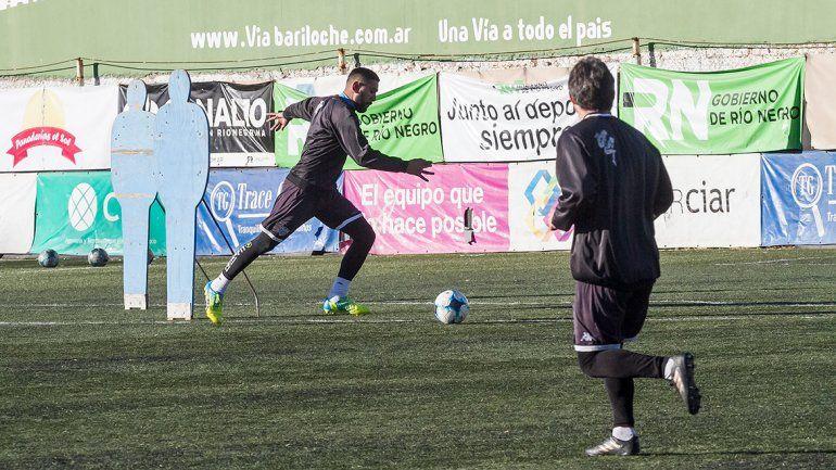 Herrera quiere volver a marcar para Cipo en La Visera. El poder de fuego del 9 será una de las claves del juego.