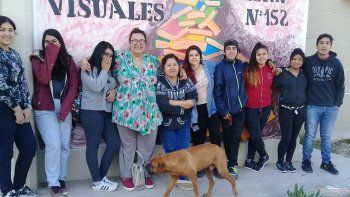En la escuela del Mapu derriban estigmas con la fuerza del arte