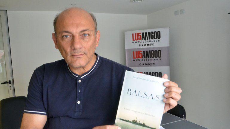 Balsas: un relato  del drama  de Malvinas en primera persona