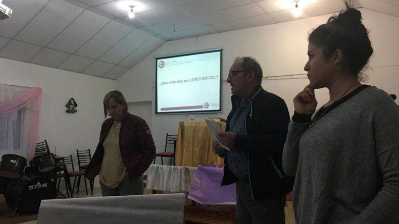 Bordignon recibió a vecinos del barrio El Espejo