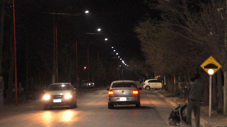 La Muni pediría un crédito para que el parque industrial tenga luces led