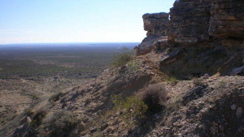 El cerro Azul destaca por su geología