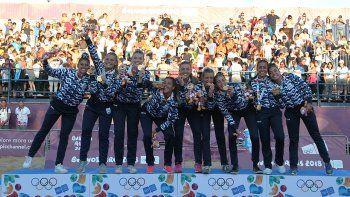 Los rionegrinos pisan fuerte en los Juegos Olímpicos de la Juventud