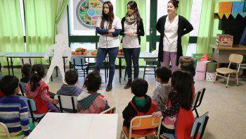 En los CI hay nutricionistas y talleres para los niños.