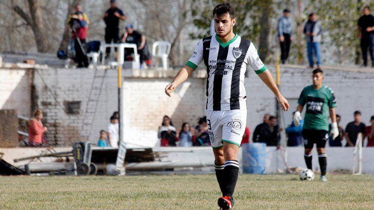 Morales no había viajado a Viedma y el domingo jugó 45 minutos.
