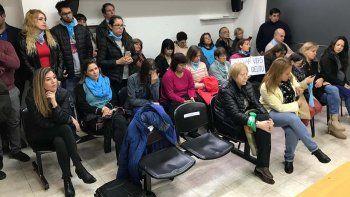 grupos provida agredieron a milesi tras la audiencia