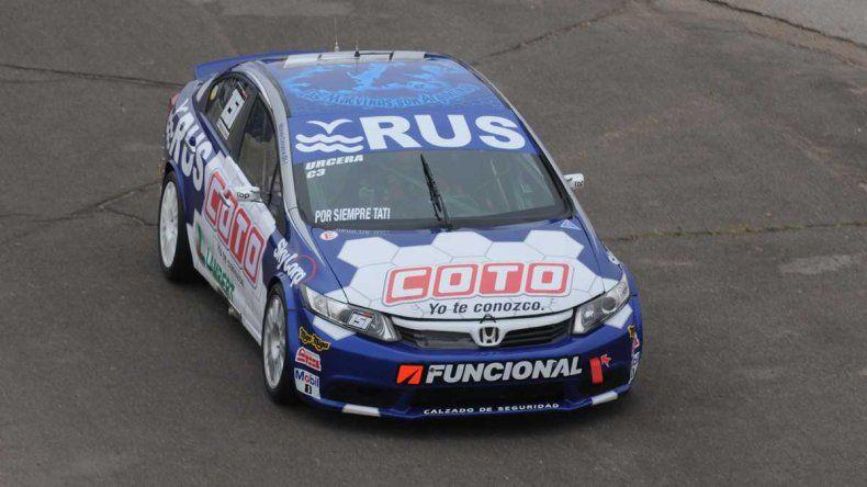 Urcera estrenó el Honda con la pole