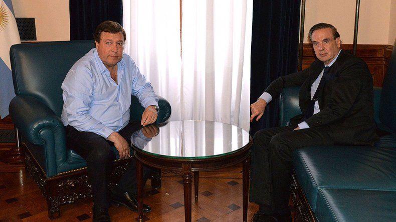 Weretilneck se reunió con Pichetto y destacaron las mejoras pedidas en el Presupuesto