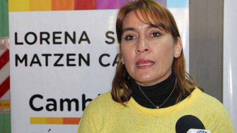 Matzen fue la única rionegrina que votó en contra de la Ley de Emergencia Económica