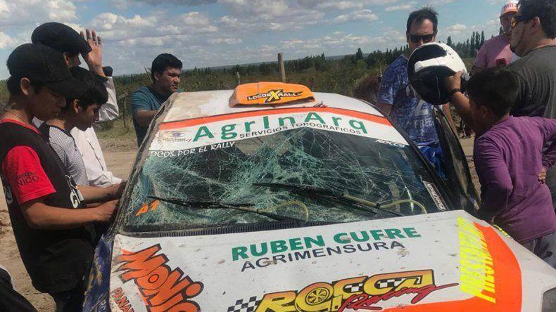 Grassano dominó la primera etapa del Rally Regional