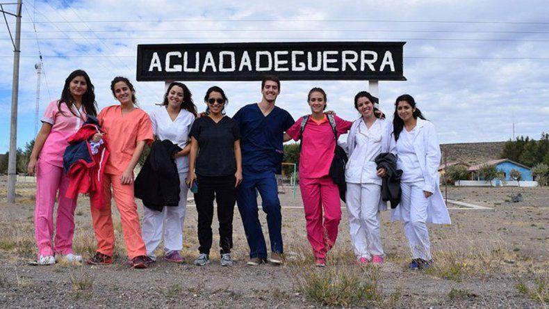 Alumnos y docentes de la UNRN parten rumbo a la Línea Sur