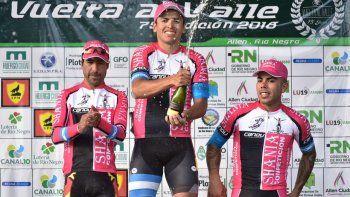 La primera etapa de la Vuelta fue de Naranjo