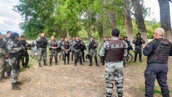 capacitaron a policias motoristas de la regional v en cipolletti