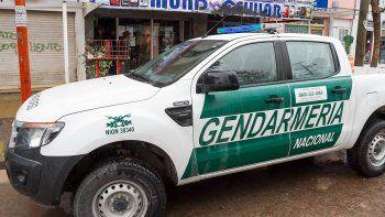 gendarmeria trabajo en la ruta 22 buscando drogas