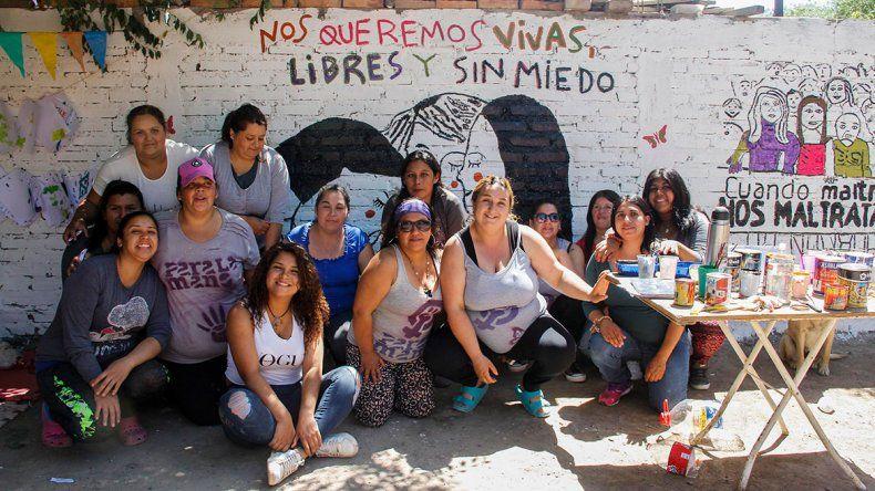 Murales contra la violencia machista en la ciudad