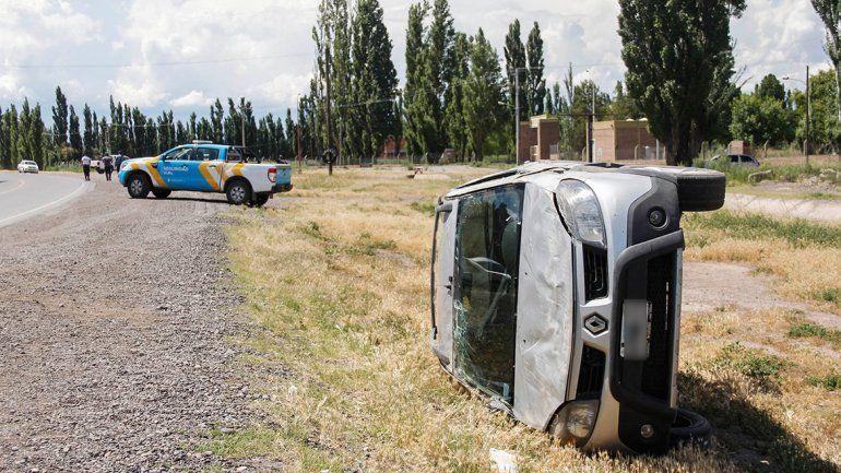 Violento accidente sobre la Ruta 151 generó caos en el tránsito