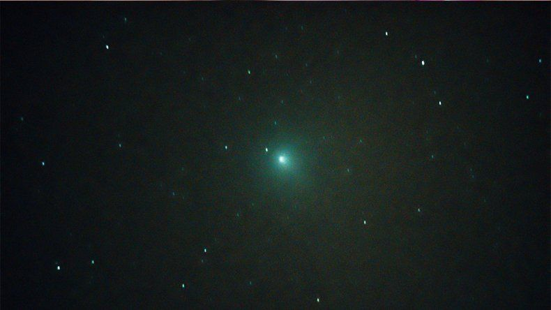 El Observatorio Astronómico cipoleño captó en imágenes al cometa Wirtanen