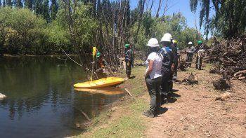 dicen que la fuga del pozo petrolero en allen no llego al rio