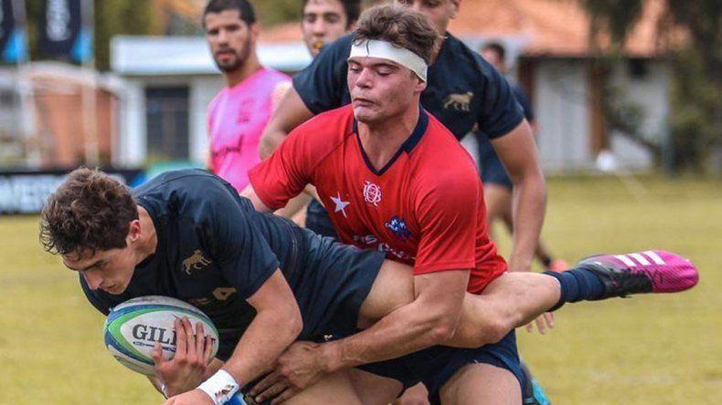 Gómez, campeón del Sudamericano de rugby en Paraguay