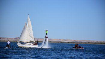 Este verano el Lago Pellegrini contará con un amplio abanico de actividades recreativas.