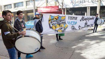 el municipio denuncio a sitramuci por impulsar un loteo trucho