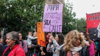 unidas contra la violencia machista: mujeres cipolenas coparon la calle