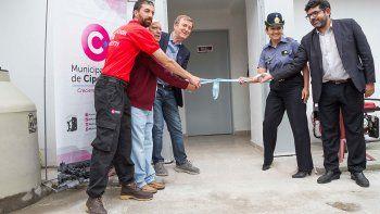 Inauguraron la nueva sede de Protección Civil
