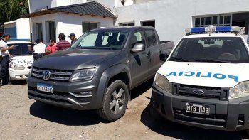 atraparon a cipoleno que manejaba una camioneta de alta gama robada