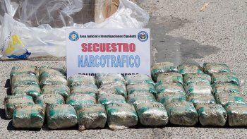 condenan a un camionero allense por trafico hormiga de drogas