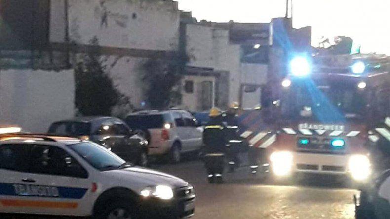 Susto por una pérdida de GNC en pleno centro de Las Grutas