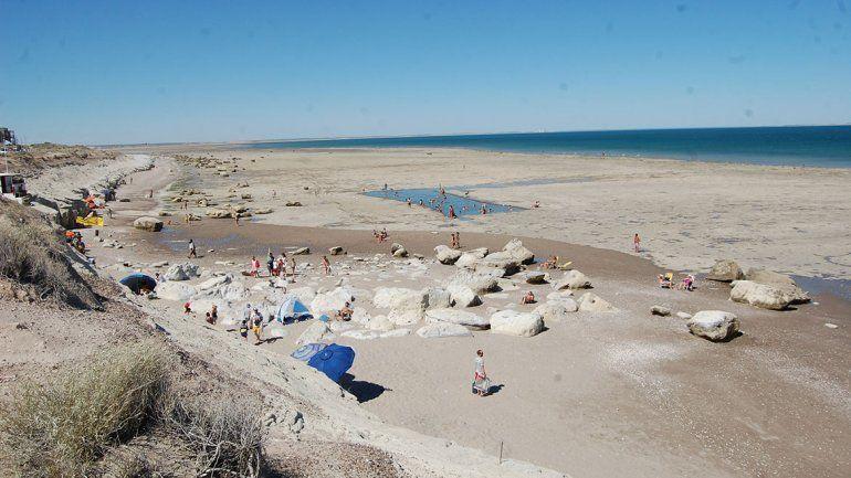 Terraza Al Mar La Playa Silenciosa Cercana Al Centro Las