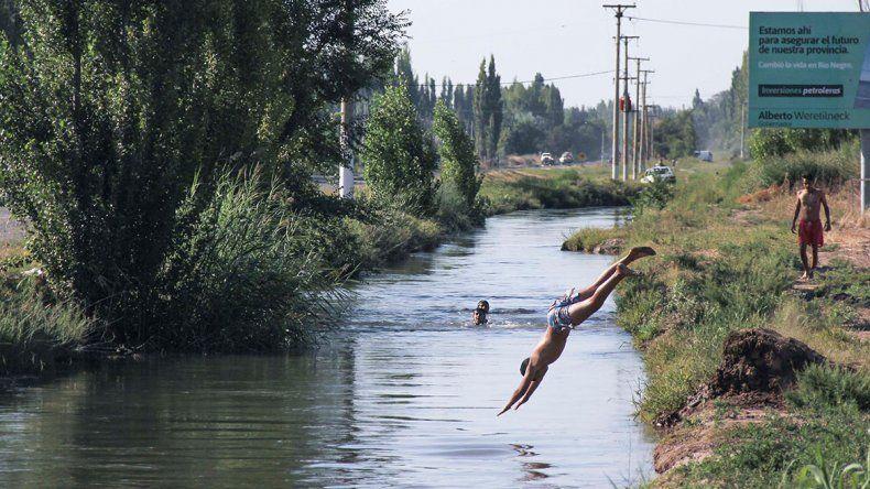 Dañan los canales para mejorar sus balnearios